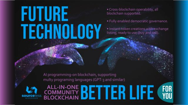 SourceLess Blockchain a hybrid technology of the future